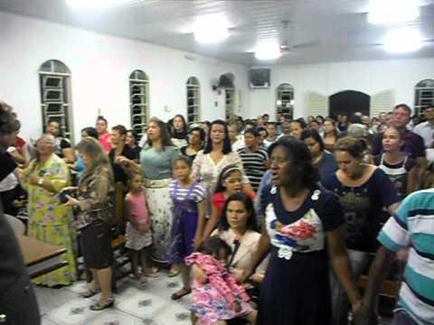 Cantor Jacinto Labareda, na igreja Palavra de cristo para o Brasil em Barbosa