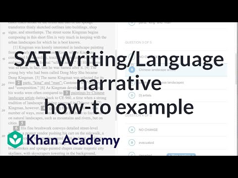Writing Narrative  Howto Example Video  Khan Academy