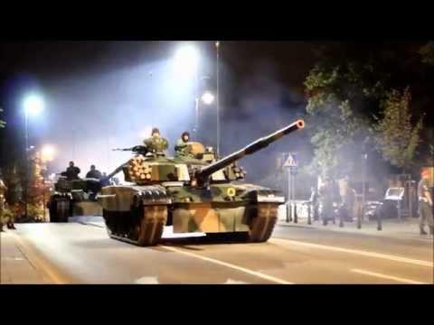 Ostatniej nocy odbyła się próba generalna przed sobotnią paradą.