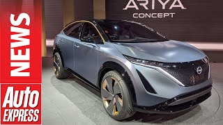 Nissan Ariya - fully-electric crossover to enter production in 2021 by Auto Express