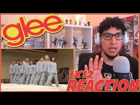 SCHUSTER SCARED THE S*** OUT OF ME! | Glee 1x12 REACTION | Season 1 Episode 12