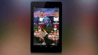 Application PSG YouTube video