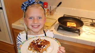 Alyssa hosts this episode of Kid Size Cooking as she shows how to make French Toast. This is a family favorite dinner meal around our house! Please remember ...