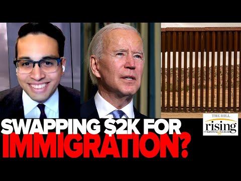 Saagar: Biden FOOLISHLY abandons $2k checks and going for immigration instead