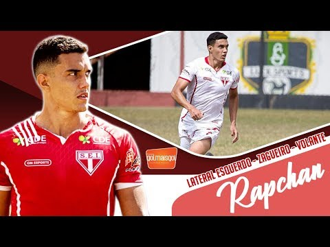 RAPCHAN - LATERAL ESQUERDO / ZAGUEIRO / VOLANTE - Gabriel Barbosa Rapchan
