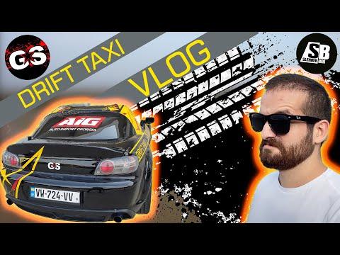 DRIFT TAXI - Vlog - გაზაობა ავტოდრომზე - კადრს მიღმა