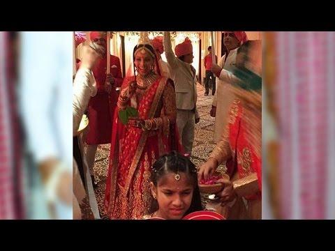 Bride Bipasha Basu's Grand Entry At Her Wedding Wi