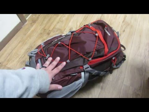 MountainTop Outdoor Equipment Company, Adventure 40L Pack - Review (видео)