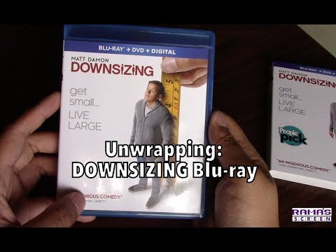 Unwrapping | 'DOWNSIZING' Blu-ray/DVD/Digital Combo Pack