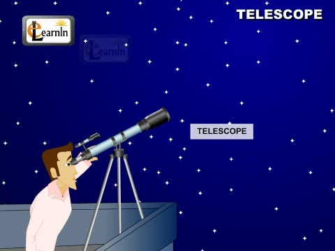 Working principle of telesscope