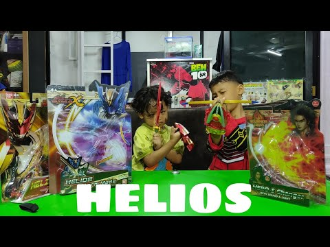 Unboxing Helios Flame Mode dan Helios Storm Mode
