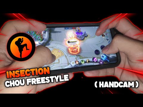iNSECTiON CHOU FREESTYLE (HandCam) ft. iPHONE 11 PRO MAX   Smooth FreeStyles   MLBB