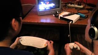 Tournament play with Gamecube Keyboard controller