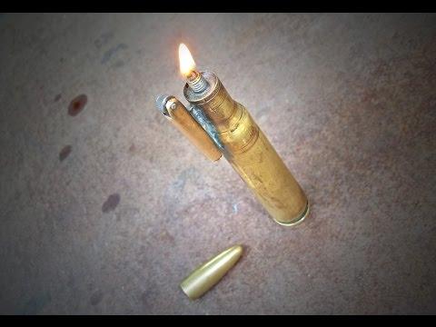 Самодельная бензиновая зажигалка своими руками