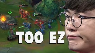 """Video When Faker Does His """"Playmaker"""" Moves Again... 