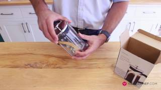 Unboxing the Yuppiechef Coffee Plunger