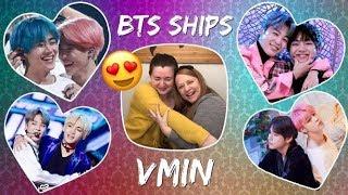 Video BTS Ships Reaction! - VMin (#6 of 21) download in MP3, 3GP, MP4, WEBM, AVI, FLV January 2017