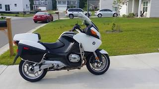 6. 2009 BMW R1200RT EX-POLICE BIKE WALK AROUND
