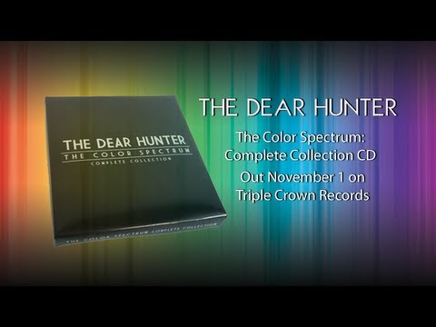 "The Dear Hunter ""The Color Spectrum"" Complete Collection CD Unboxing"