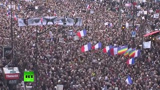 Over 3 million march in Paris in solidarity after Charlie Hebdo attack, hostage crises