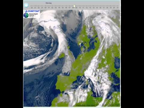 Metsat-9 Animation stationary warmfront over northern/central Italy 11/12-11-2012