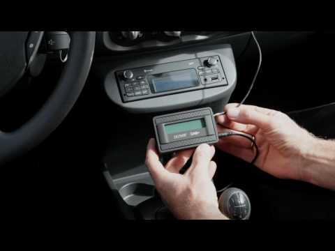 DENVER DAB-10   -  Mount in car (видео)