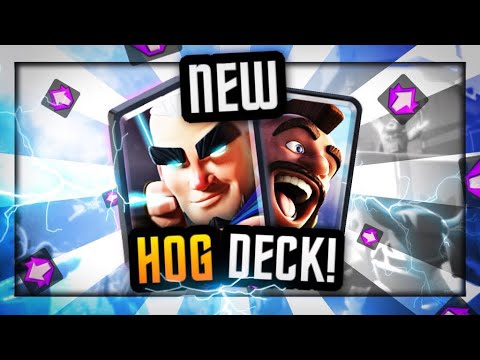 Slim fast - *NEW* INSANELY FAST HOG CYCLE  80% WIN RATE  MAGIC ARCHER DECK!