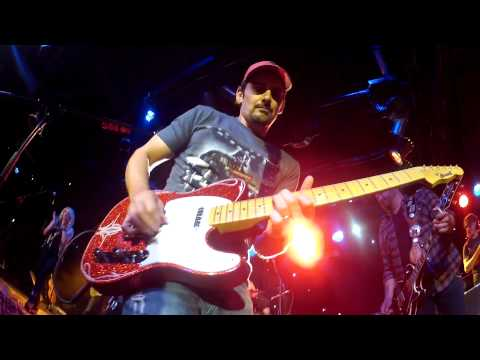 Brad Paisley takes my GoPro and plays a slide guitar solo with it!