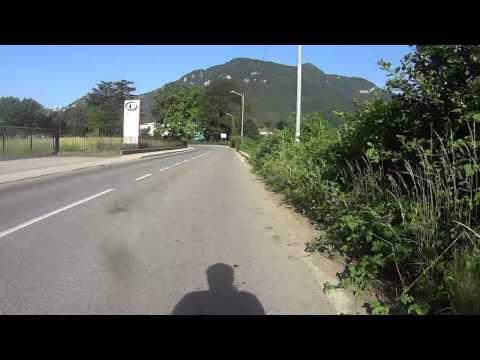 In bici da Viggiu al lago di Lugano