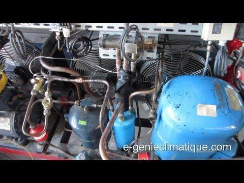 Froid76-Dégivrage par inversion de cycle-chambre froide négative-observation et fonctionnement