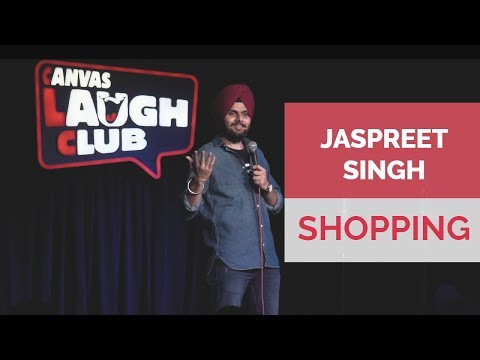 Shopping with wife  Jaspreet Singh Stand-Up Comedy