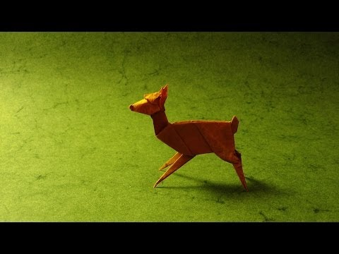 Origami Instructions: Fawn (Stephen Weiss)