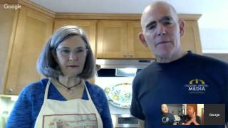 """Mountain View, California residents +Marilyn Ritter and +George Cohn will be cooking a delicious Cuban dish, *Ropa Vieja*.  This means """"old clothes' in Spanish, but don't be put off by name, it's a delicious and tasty dish I'm sure you're going to love. *Here is a link to George's awesome recipe*:  https://goo.gl/untyjb#CubanFood   #RopaVieja   #GlobalFood   #WorldFood #larryfournillier"""