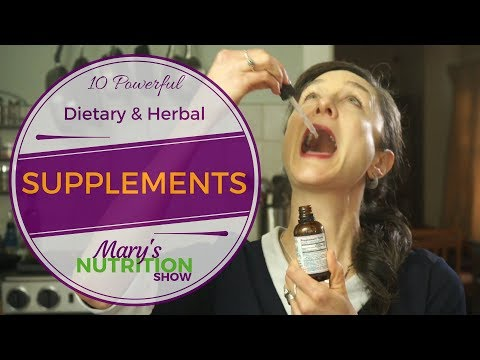 10 Powerful Dietary + Herbal Supplements, Dietitian Recommended - Mary's Nutrition Show FULL EPISODE