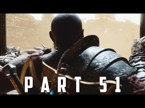 GOD OF WAR Walkthrough Gameplay Part 51 - WELCOME TO NIFLHEIM (God of War 4)