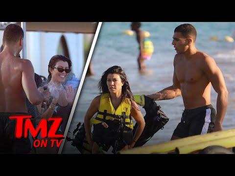 Kourtney Kardashian & Younes Vacation In Saint-Tropez   TMZ TV