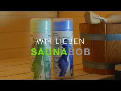 SAUNABOB das neuartige Saunatuch mit Sofort-Trocken-Effekt by SAUNADAY **WELTNEUHEIT**