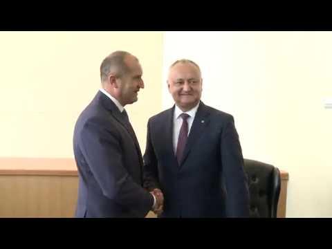 Președintele Igor Dodon a avut o întrevedere cu Președintele Bulgariei, Rumen Radev