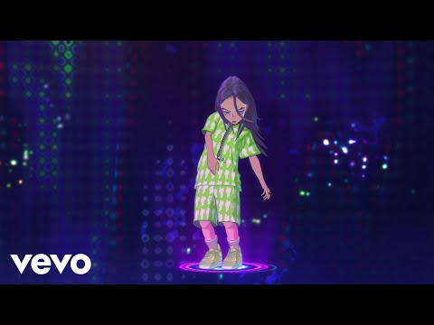 Billie Eilish - you should see me in a crown (Official Video By Takashi Murakami)