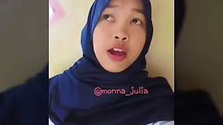 Tips mengatasi teman makan teman    Monna Julia    video lucu banjarmasin