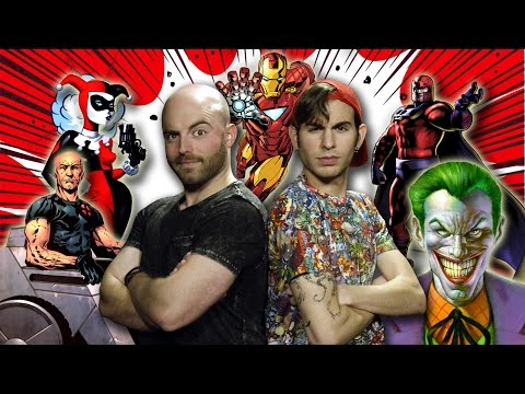 10 Comic Book Characters Inspired by REAL People!
