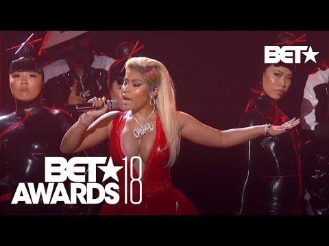 "Nicki Minaj With A Sexy ""Chun-Li"" & ""Rich Sex"" Performance!   BET Awards 2018"