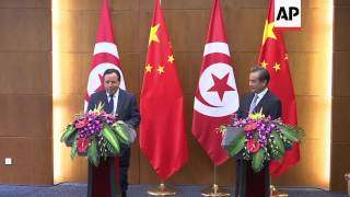 (19 Jul 2017) LEADIN: The foreign ministers of China and Tunisia are calling for new efforts to reach a negotiated peace in Libya...