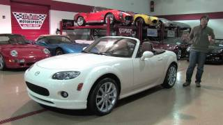 Mazda Miata MX-5 Grand Touring--D&M Motorsports Video Walk Around Review Chris Moran 2012