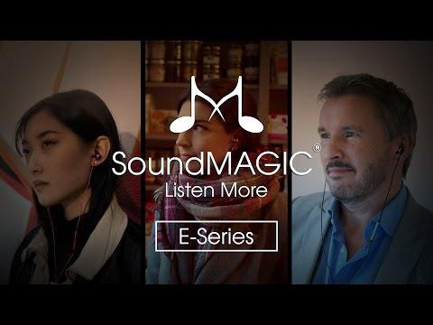SoundMAGIC E10C In-Ear fülhallgató headset hangerőszabályzóval Kék-Fekete