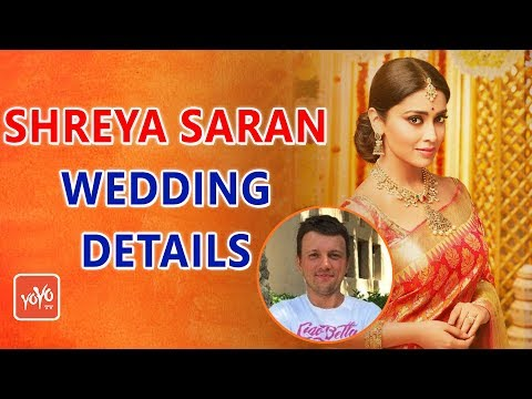 Shivaji Actress Shriya Saran Marries Russian Boyfriend..! | Shreya Wedding Details | YOYO Times