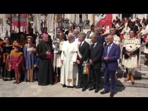 La Giostra del Saracino da Papa Francesco
