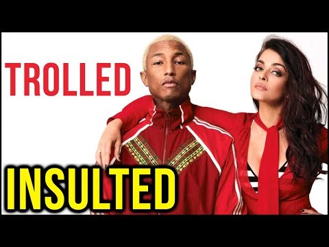 Aishwarya Rai - Pharrell Williams TROLLED, Vogue M