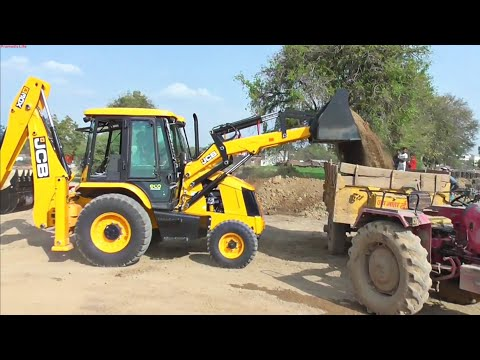 My New JCB 3DX ECO First Time working on field First working experience of New JCB Machine