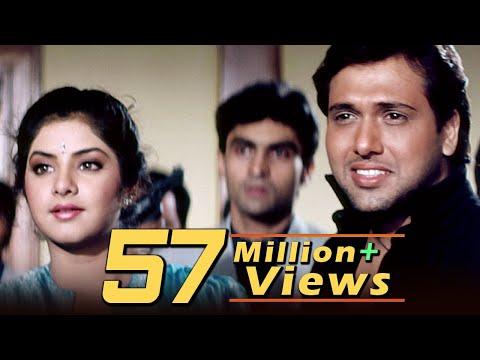 तेरे मेरे प्यार में | Shola Aur Shabnam (1992) | Bollywood Love Song | Govinda Divya Bharati Hits